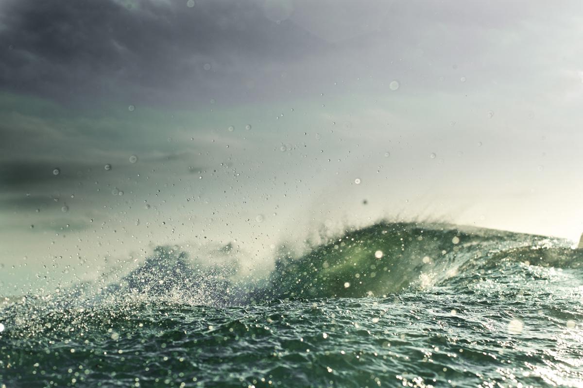 Rain-ocean