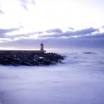 Lighthouse-Purple-Sunset