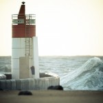 Wave-And-Lighthouse